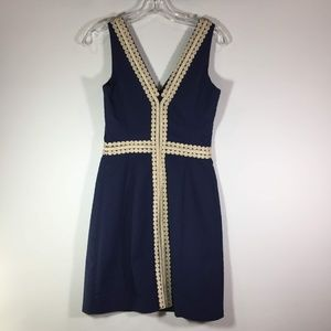 Lilly Pulitzer Dresses - Lilly Pulitzer Navy Bentley Shift Dress NWT Size 0